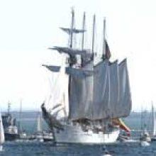 FRIZONIA trabaja en el B/E Juan Sebastián Elcano