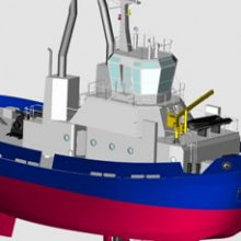 FRIZONIA hired for HVAC system for a tug to Israel