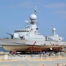 FRIZONIA is working on board Patrol vessels for Moroccan Navy