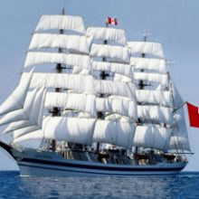 """FRIZONIA hired for the sailing training ship """"Unión"""" of the Peruvian Navy"""