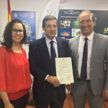 FRIZONIA recibe del Ministerio de Defensa Español la certificación PECAL/AQAP 2110