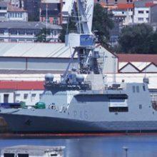 FRIZONIA participa en las pruebas de mar del sistema HVAC del buque BAM «Furor»