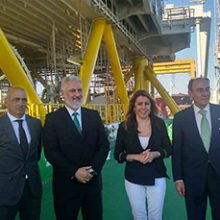 """Delivery of the """"Andalucía II"""" substation (East Anglia One)"""
