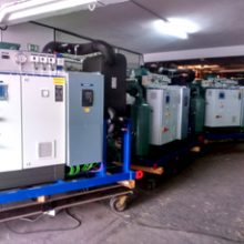 Entrega de las Plantas Enfriadoras de Agua para los nuevos buques BAM