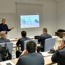 """FRIZONIA has given a specific training course for Operation and Maintenance on board the HVAC System for the crew of the new BAM ship """"Audaz"""" of the Spanish Navy"""