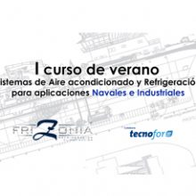 """FRIZONIA will give his """"I summer course in Air conditioning and Refrigeration systems for Marine and Industrial sectors"""""""