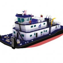 FRIZONIA hire the air conditioning system of a pusher ship