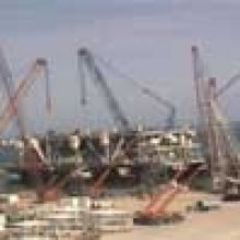 FRIZONIA works in the BUZZARD Offshore Project
