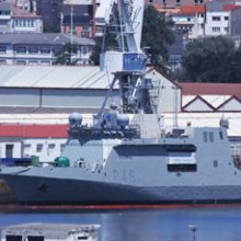 """FRIZONIA participates in the sea tests of the HVAC system of the vessel BAM """"Furor"""""""
