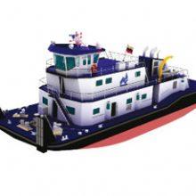 FRIZONIA contrata el sistema de aire acondicionado de un buque empujador