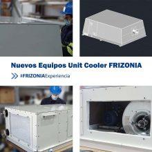 FRIZONIA desarrolla dos nuevos modelos de equipos tipo Unit Cooler: UCO – Silent y UCO – Radar