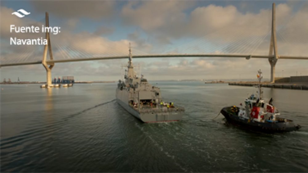 FRIZONIA CHECKS THE EFFECTIVENESS OF ITS EQUIPMENT IN THE SEA TRIALS OF THE FIRST SAUDI CORVETTE