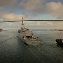 FRIZONIA comprueba la efectividad de sus equipos en las pruebas de mar de la primera Corbeta Saudí